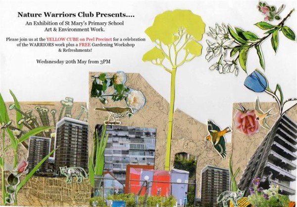 Nature Warriors flyer by Polly Brannan